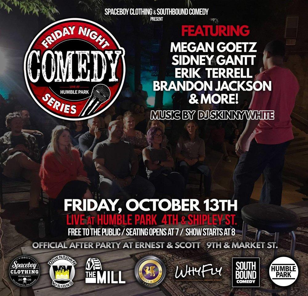 Humble park comedy show