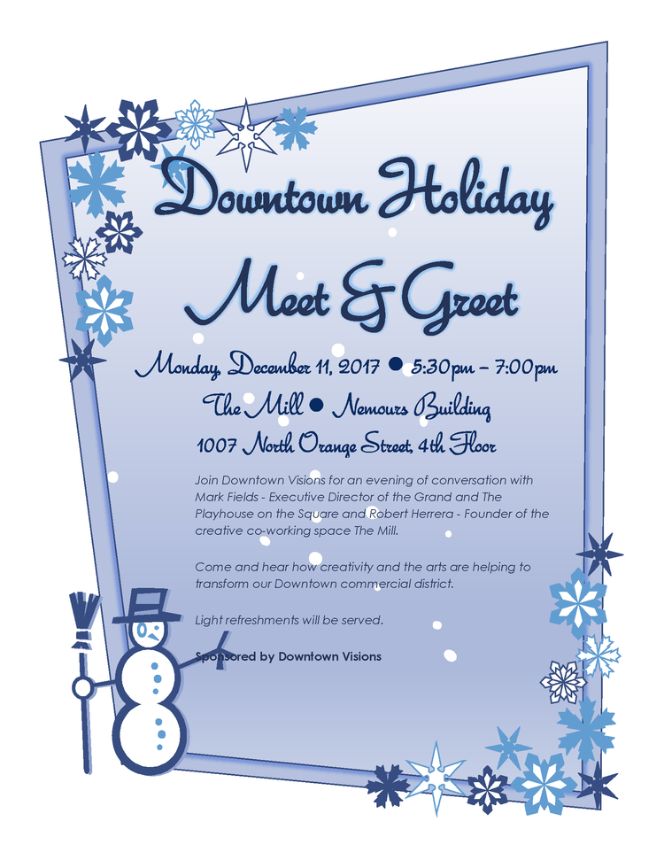 Join us for a downtown holiday meet greet downtown wilmington downtown meet and greet m4hsunfo