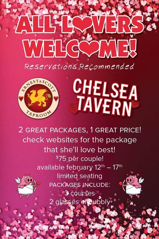 Valentines Day chelsea Tavern