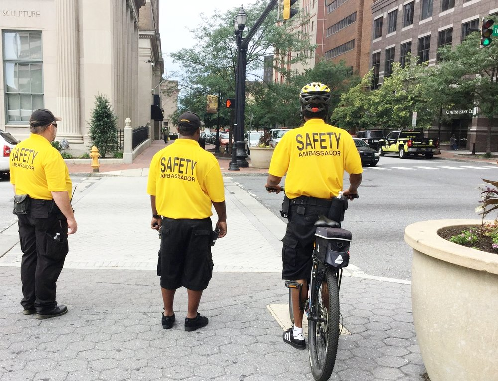 Downtown Wilmington DE Safety Ambassadors