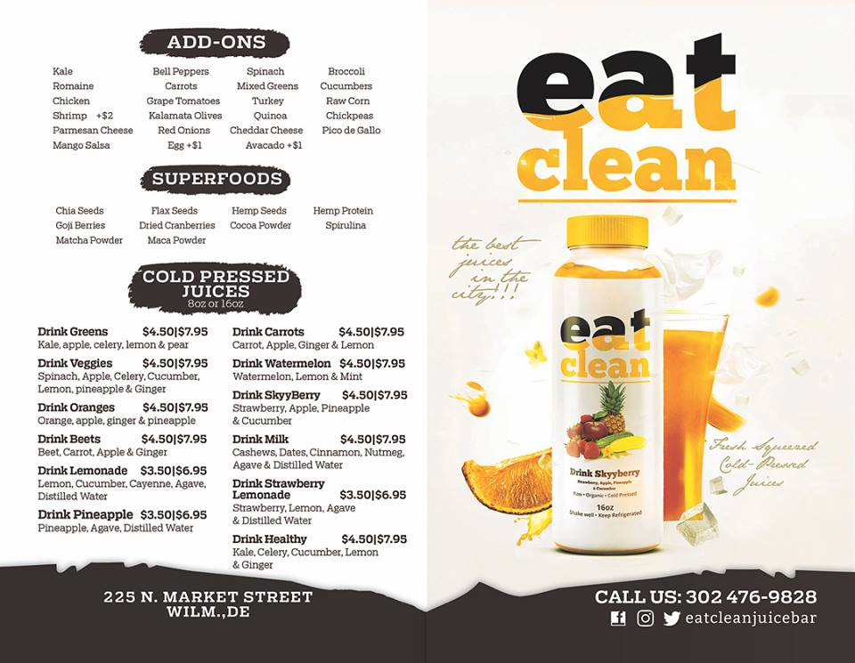 eat clean wilmington DE