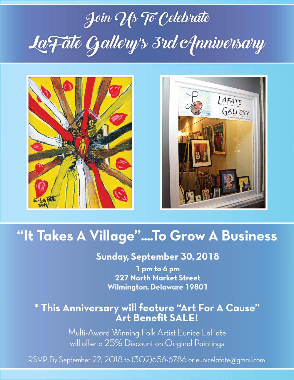 LaFate Gallery Anniversary
