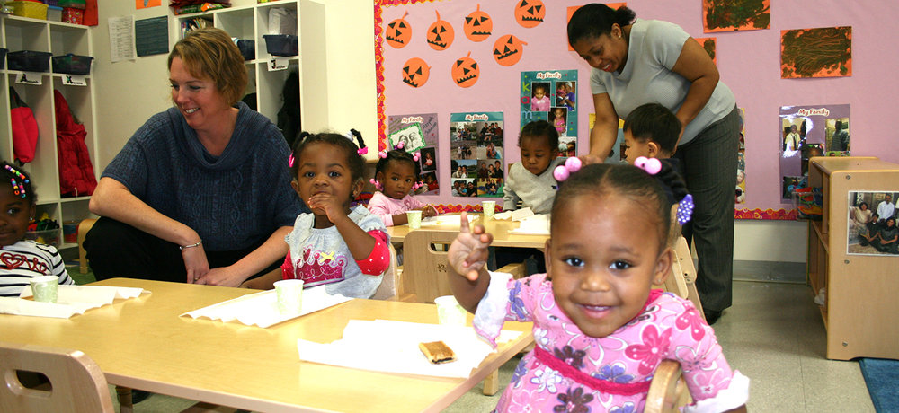 our Children's Learning Center provides high quality, comprehensive child care in a safe and nurturing