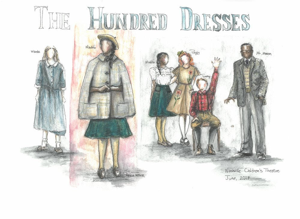The hundred dresses pictures
