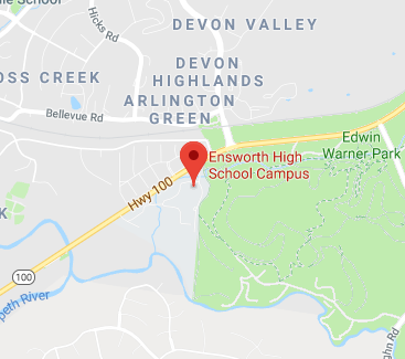Location of Ensworth: Devon Farms Campus
