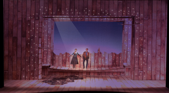 Scenic Design by Court Watson