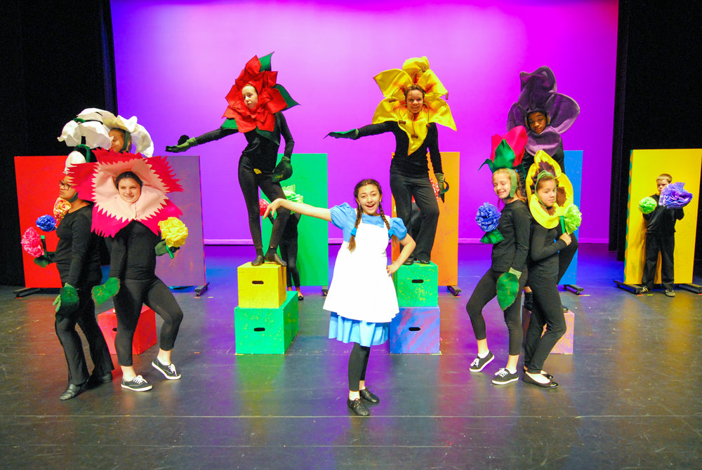 "Summer 2014 Production of ""Alice in Wonderland Jr"""