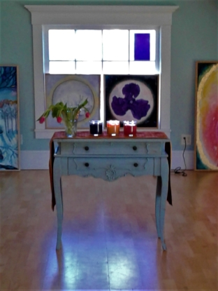 "Interactive Art Show & Workshop ""Messages from the Soul"" March 31 2018 Camden Maine"