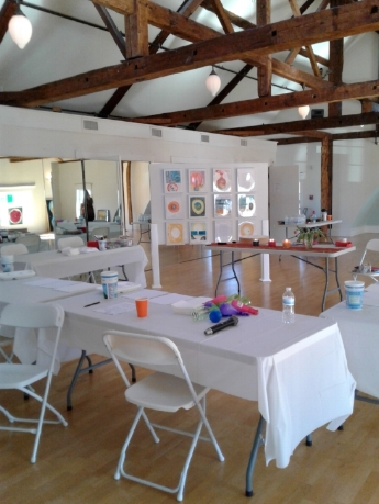 "Interactive Art Show & Workshop, ""Messages from the Soul"""