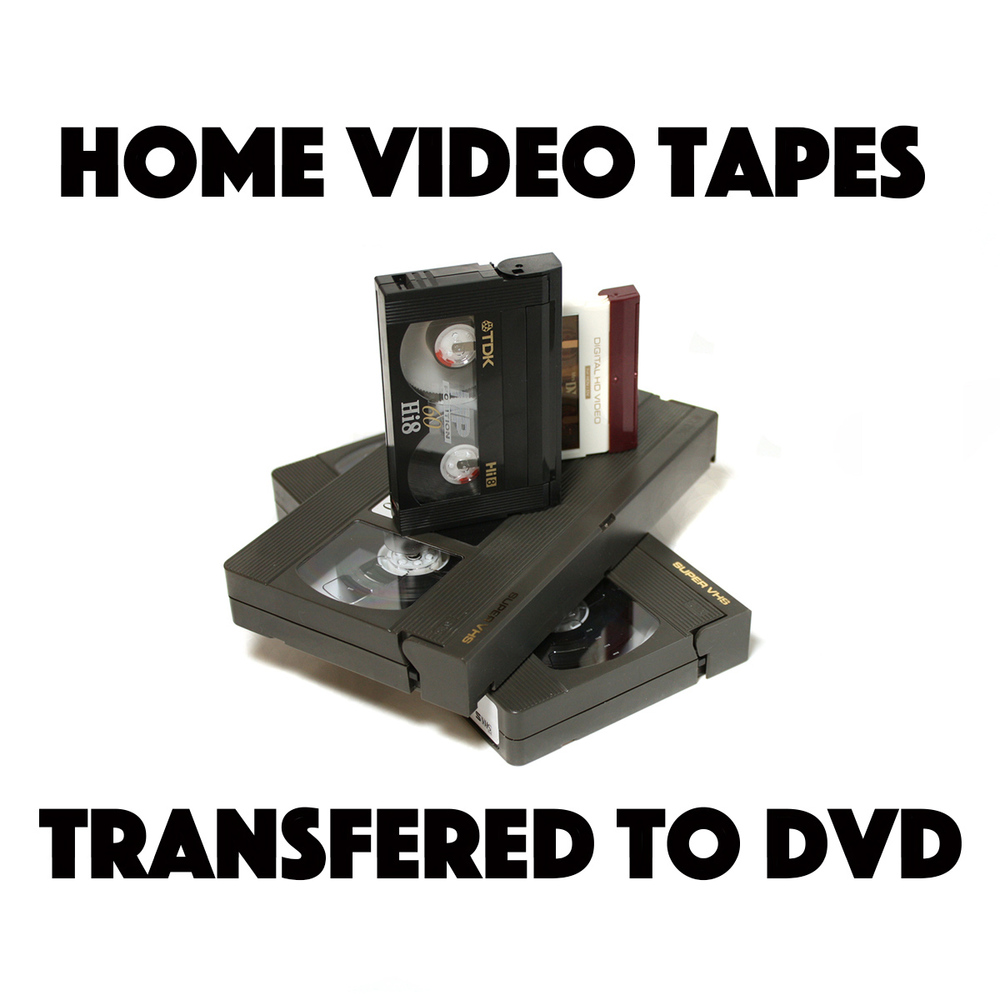 Camcorder Tapes transfered to DVD