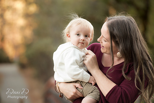 Mother playing with baby - - Redding CA Photographer - Dani D Photography