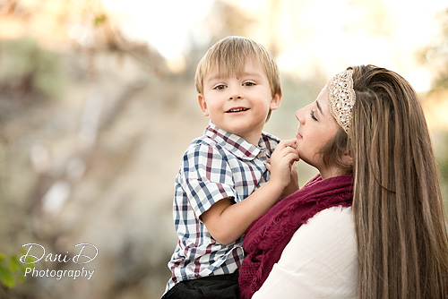 Brother and sister - Redding CA Photographer - Dani D Photography