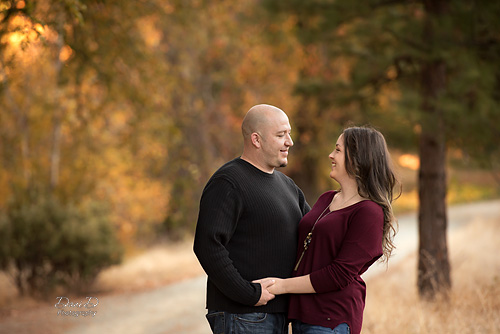 A couple in love - Redding CA Photographer - Dani D Photography
