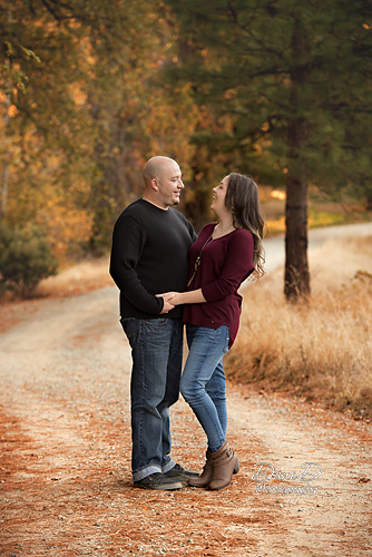 A couple laughing - Redding CA Photographer - Dani D Photography