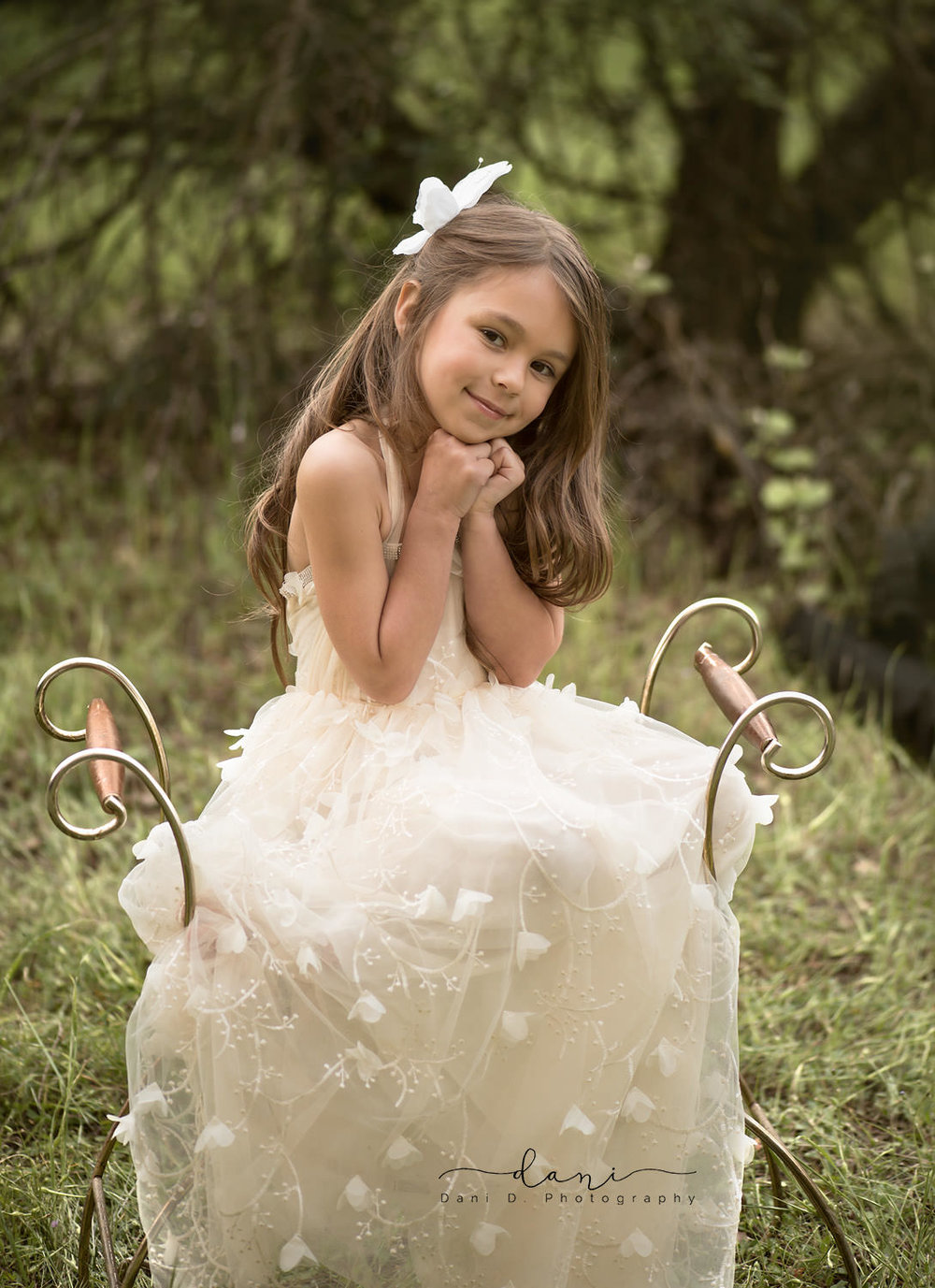 Claudia child model - Northern California child and family photographer