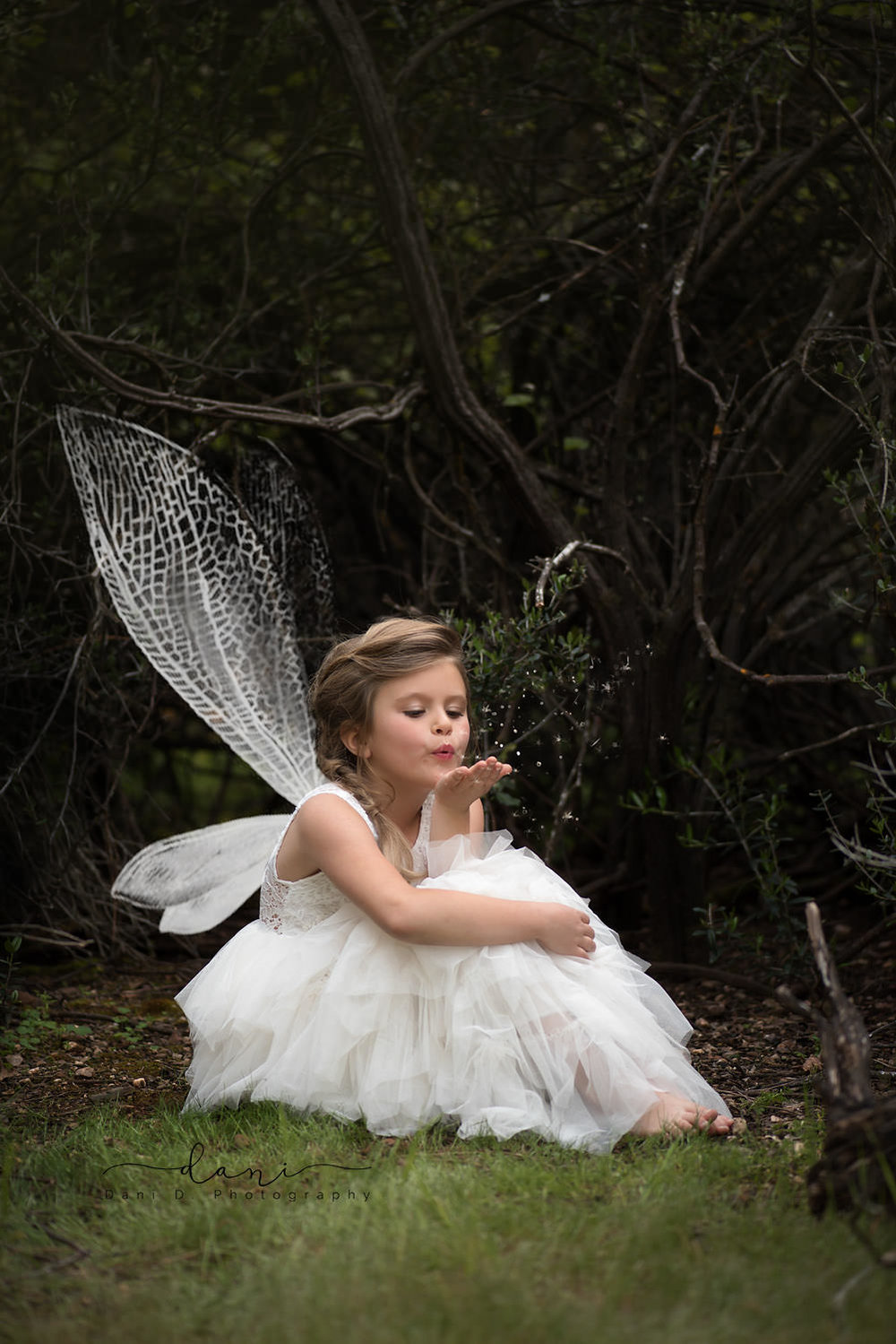 Young girl as a fairy - fantasy photography
