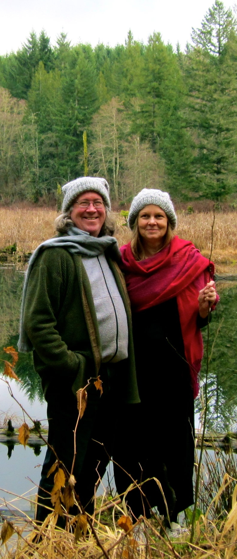 Sandie & Paul, co-owner and directors of Mosswood Hollow