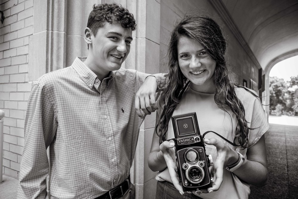 Patrick and Mo - Wooster High School