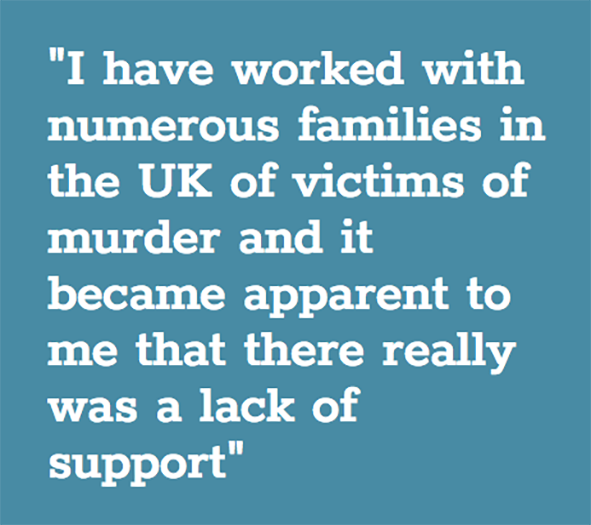 Quote from Tony Blockley, University of Derby's Lecturer in the Psychology of Criminal Investigation