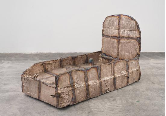 TROUGH, 2014     Bronze     133.985 x 110.49 x 233.68 cm / 52 3/4 x 43 1/2 x 92 in