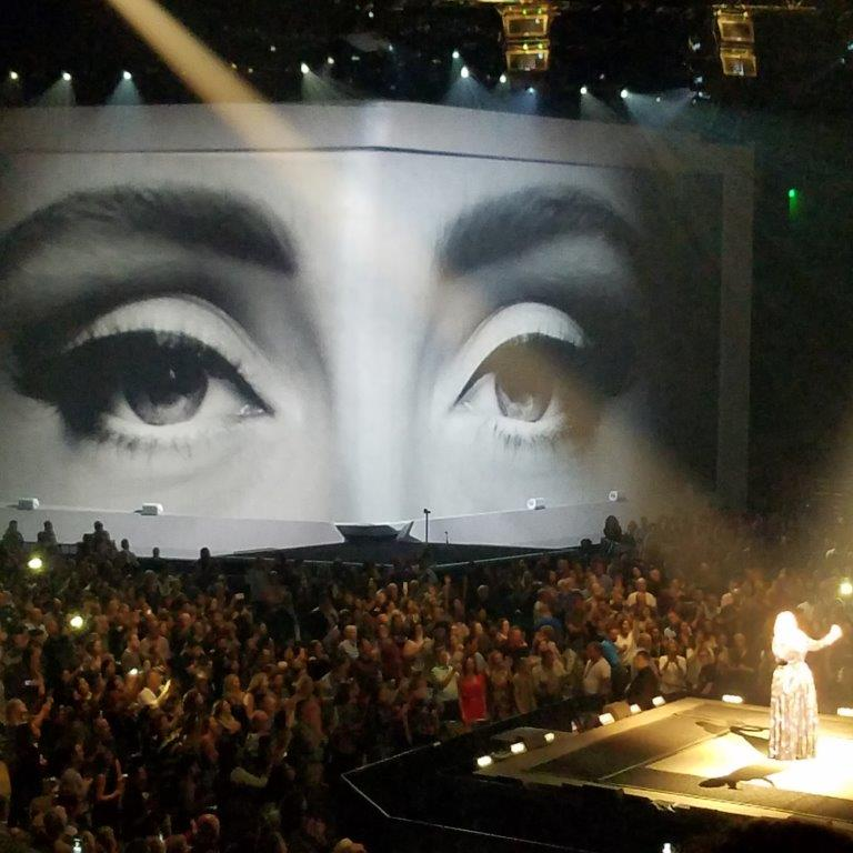 Adele performance in Austin, Texas on 11/4/2016 Photo credit:  Eric Wittig .