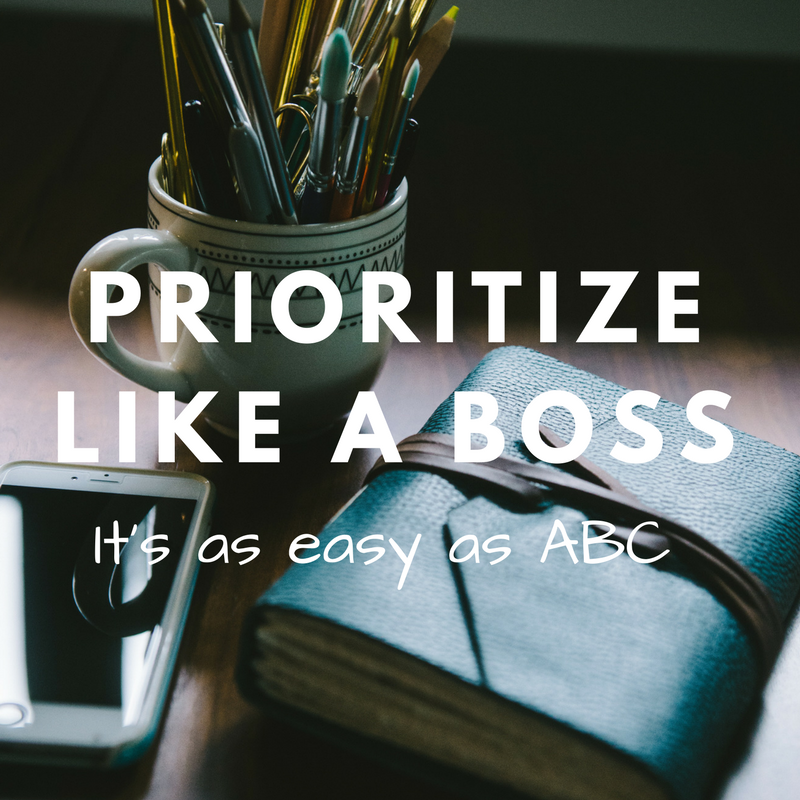 Use the ABCDE Method to prioritize tasks so you stay focused on high value activities.  Photo Credit