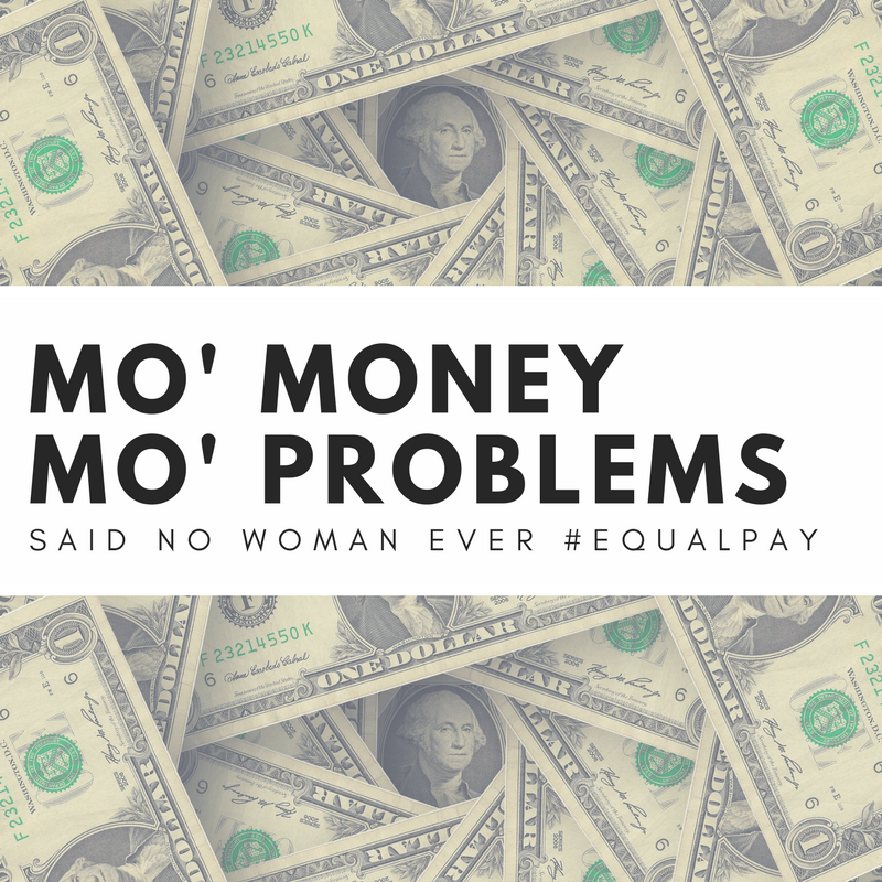 The problem of pay inequity and the issues women experience because of the gender wage gap won't go away without the action of many. Be aware. Be involved.