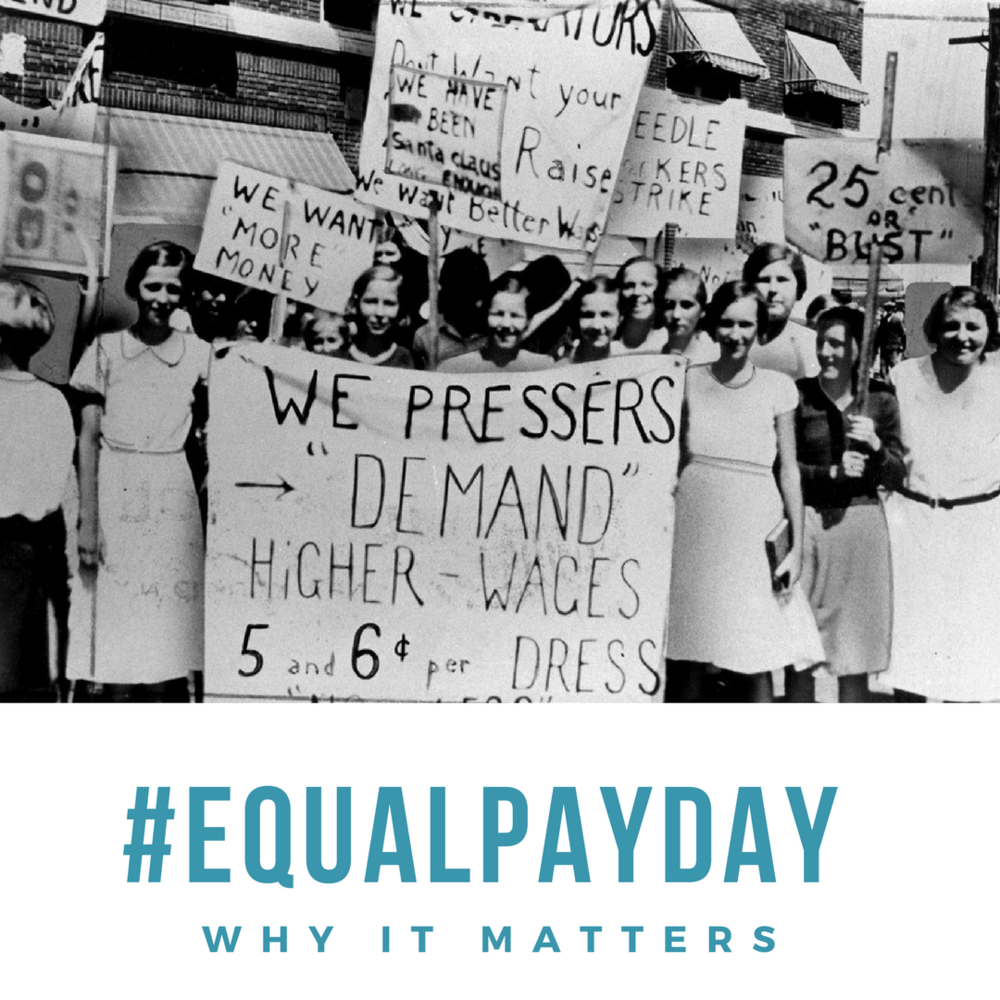 Equal Pay Day keeps the focus on the gender wage gap and the pay inequity women experience in the workplace.
