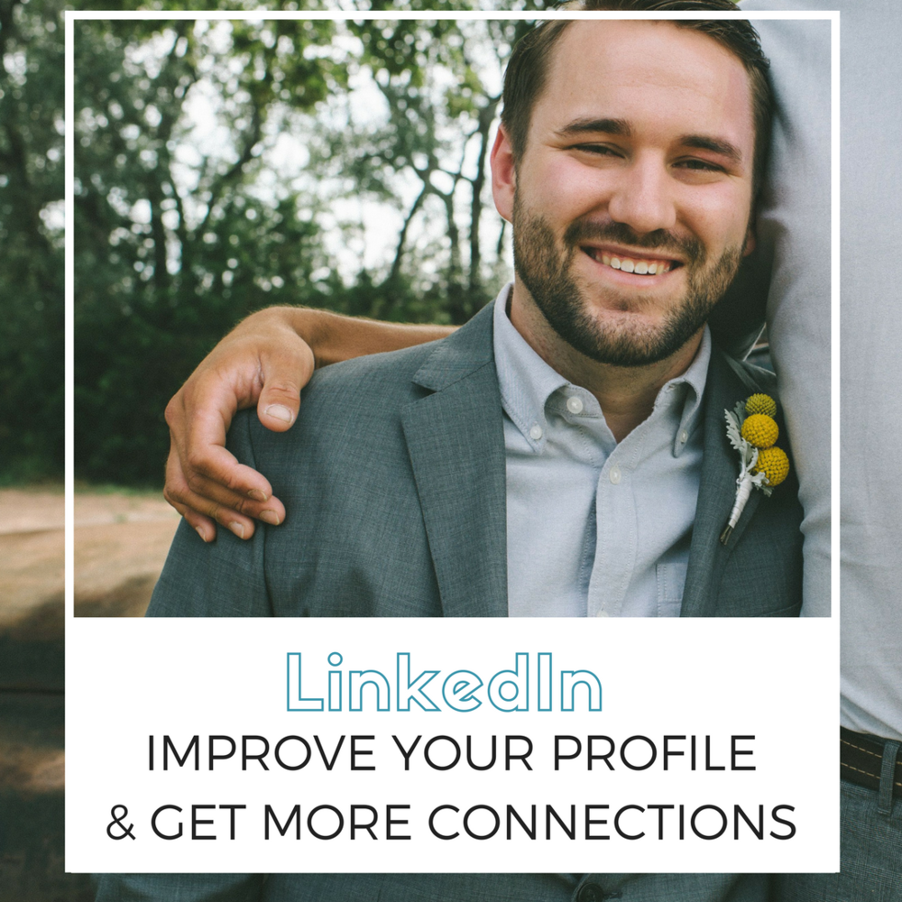 You have one chance to make a great first impression to recruiters and other professionals on LinkedIn. Make sure your photo is professional, properly cropped and career appropriate.
