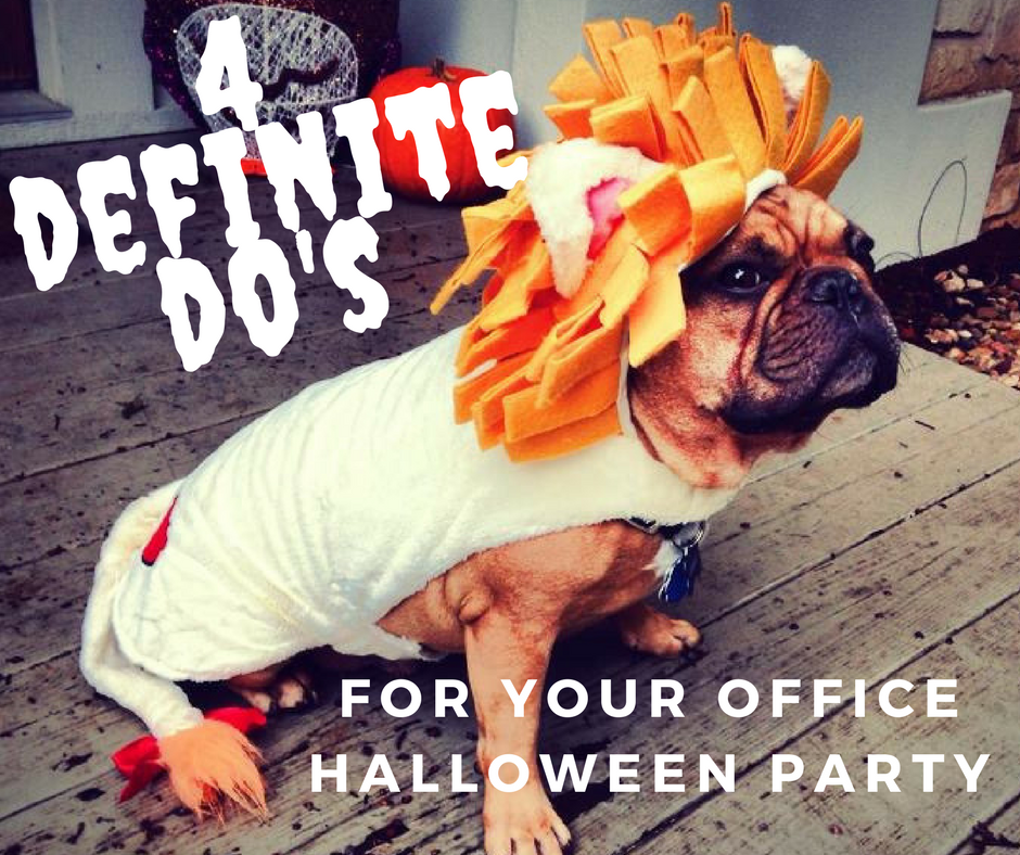 Good etiquette is important at every office party. With the Halloween party, show restraint, sensitivity and common sense when wearing a costume in the workplace.