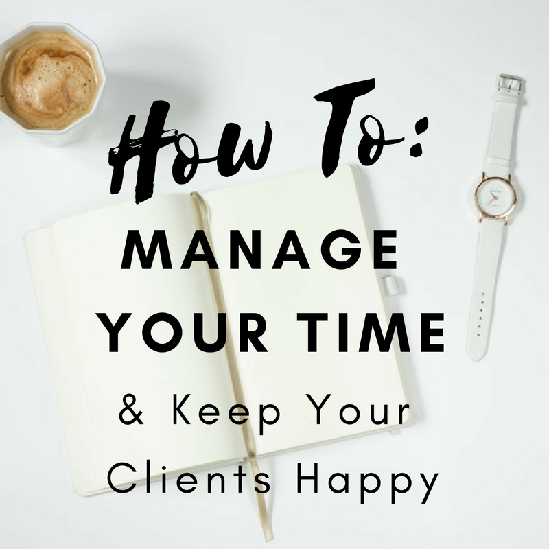 By setting clear expectations you control your time and improve the customer experience.  Image Credit: Pexels