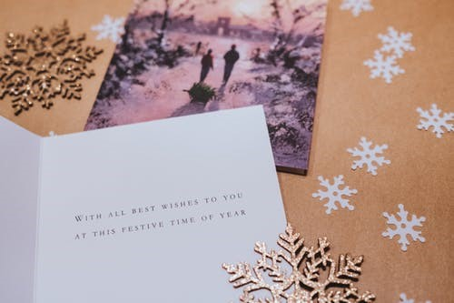 Sending holiday greeting cards is proper etiquette for young professionals and entrepreneurs and helps build relationships.