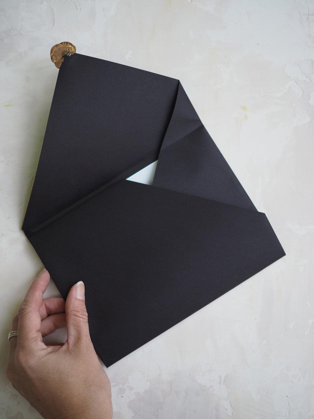 Geometric Envelope by Bowerbird Atelier