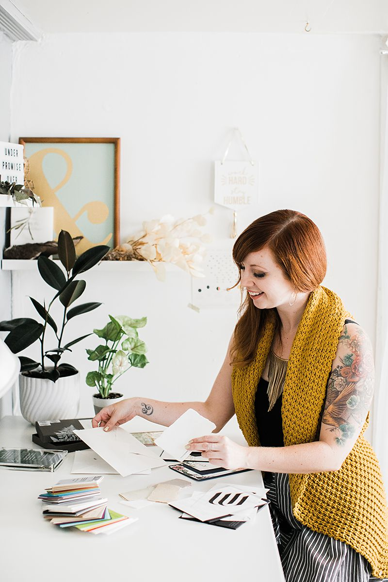 Stephanie Laursen of Bowerbird Atelier | Photo by Buena Lane Photography