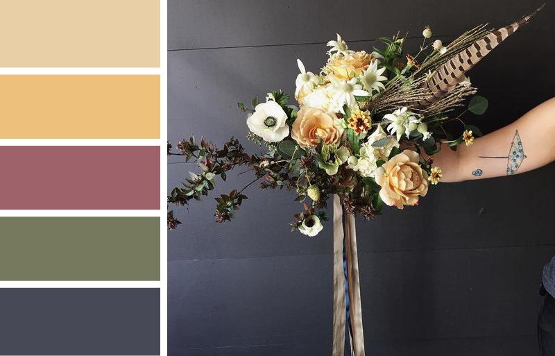 Drop-dead gorgeous bouquet by  Eothen