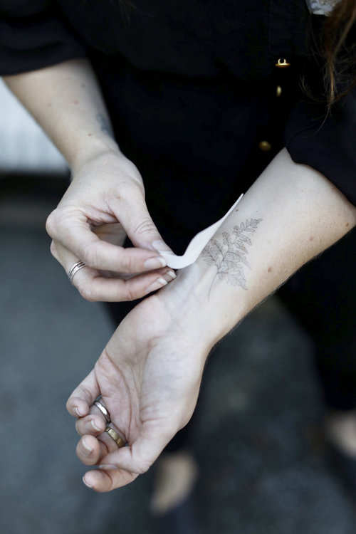 Fleurot Temporary Tattoos