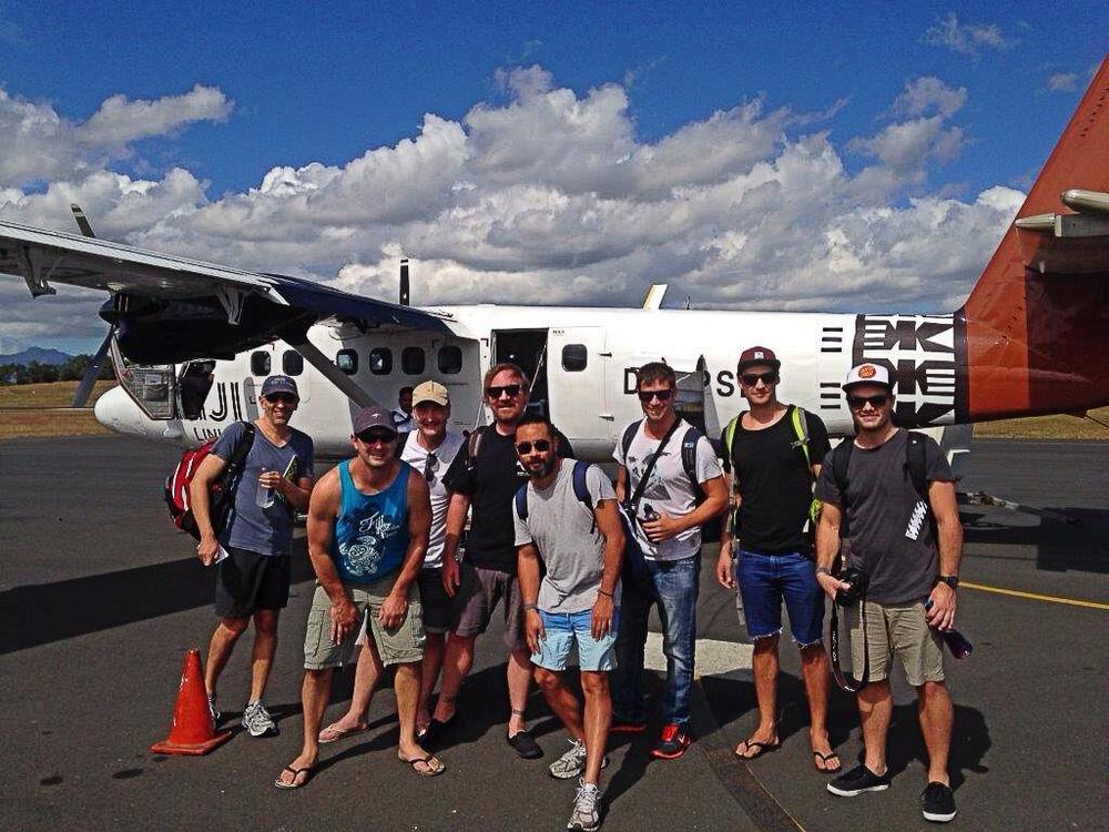 From left; Peter Couvaras, Andrew Verus, Murray Naylor, Chris Austin, Felix Antonius, Chris Freeburn, Chris Stringer and Michael Krowka.
