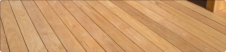 Blackbutt Decking Example