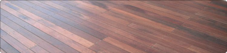 Redgum Decking Example