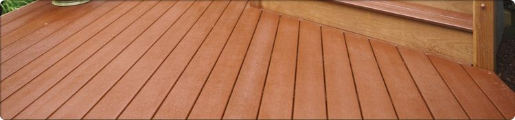 Southern Mahogany Decking Example