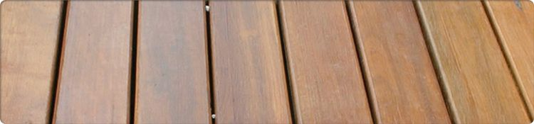 Spotted Gum Decking Example