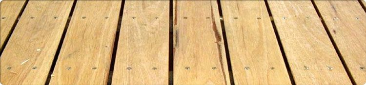 Yellow Stringybark Decking Example