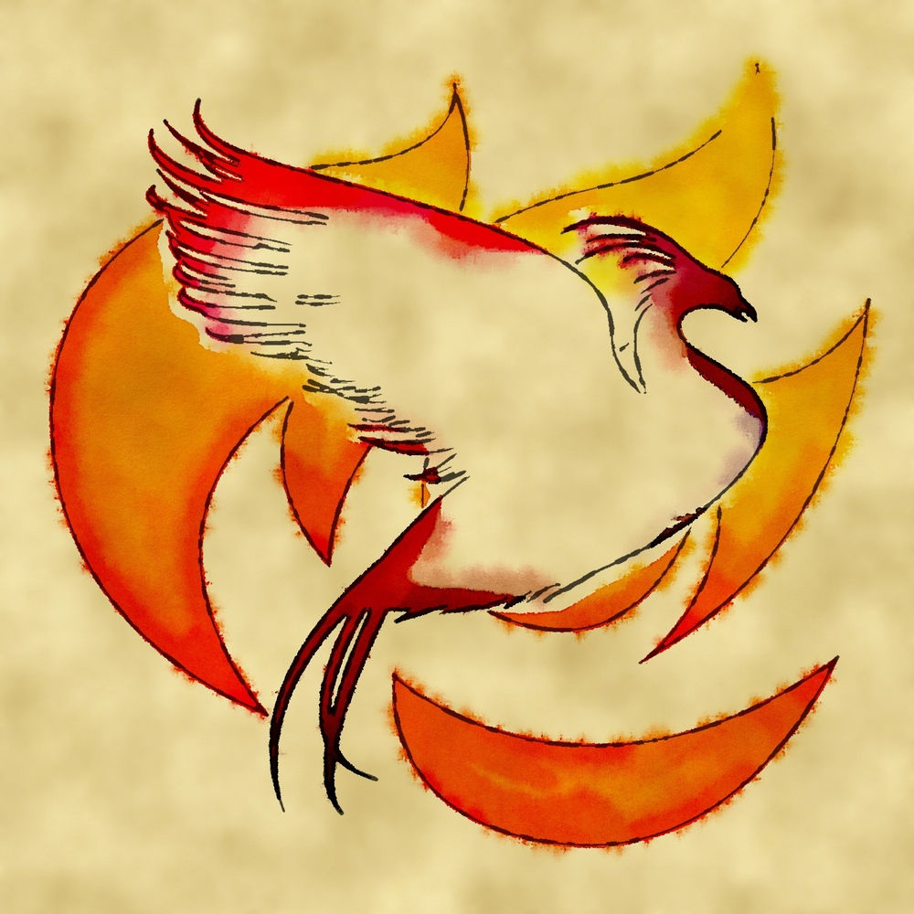 Phoenix from the Book of Kharani Nartaka, the first Ash Dancer