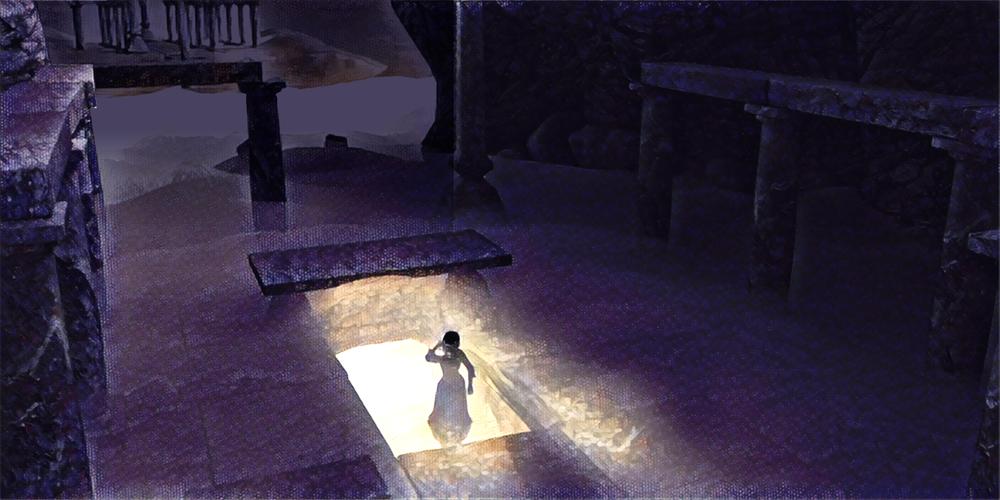 Raih enter the labyrinth