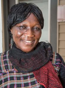 Hellen Mangindo Samuel, reporter in South Sudan.