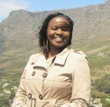 Rosalia Omungo, Earth Journalism Scholar, 2014 (credit: University of Nairobi)