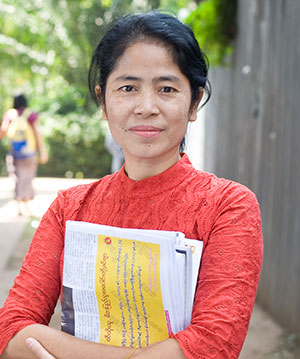 Mon Mon Myat, film producer and journalist in Myanmar. (credit: Kim Nguyen van Zoen/Internews)