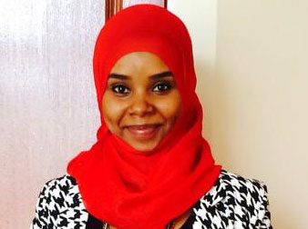 Saida Swaleh, journalist for Kenya Television Network.