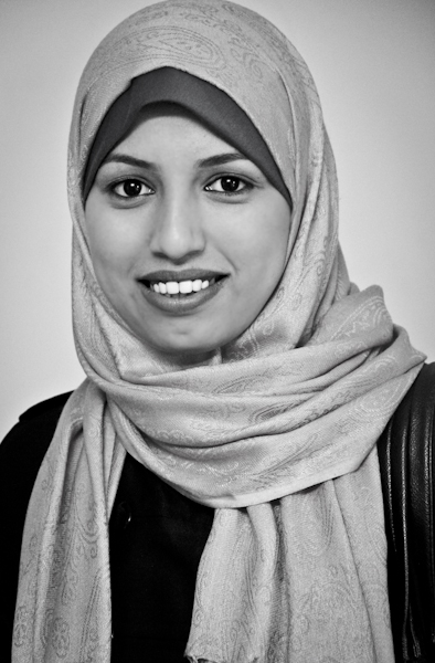 Shayma Abu Muaileh works for Forsan Al Iradio radio station in the Palestinian Territories.