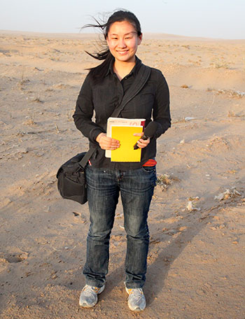 Cui Zheng, 27, a reporter with Caixin Media, covers environmental issues in China.